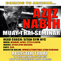 Sign Up Now – Aziz Nabih Muay Thai Seminar