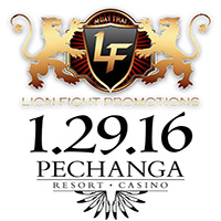 Upcoming Event: Lion Fight 27, 1/29/16