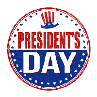 Schedule Update – Presidents' Day, 2/15/16