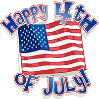 Gym Closed for July 4th