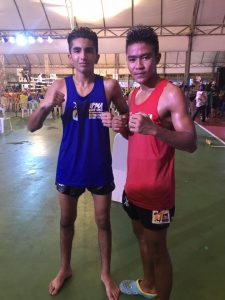 Arsh IFMA Thai fighter