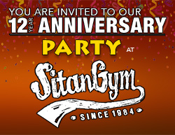 12 year Anniversary Party!