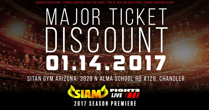 Discount Ticket Sale