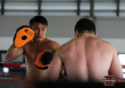 Top Thai Trainer Visits Sitan Gym Arizona