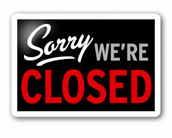 Gym Closed Saturday 6/17