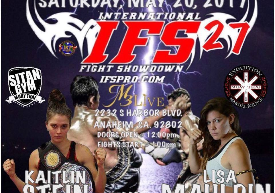Kaitlin Stein's Upcoming Bout