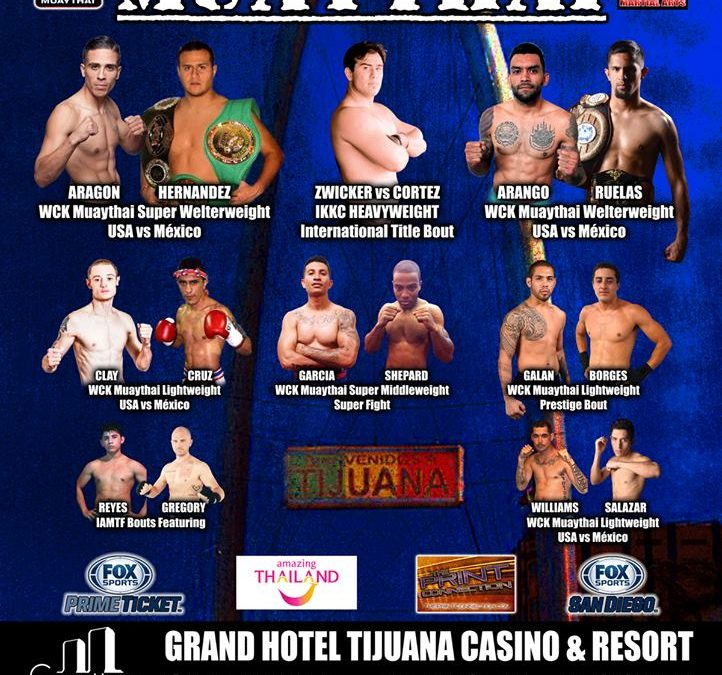 Travis Clay To Fight In Tijuana