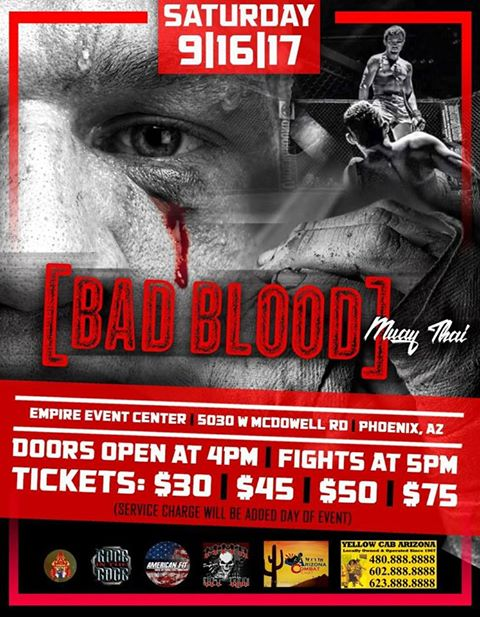 Bad Blood Fight Night
