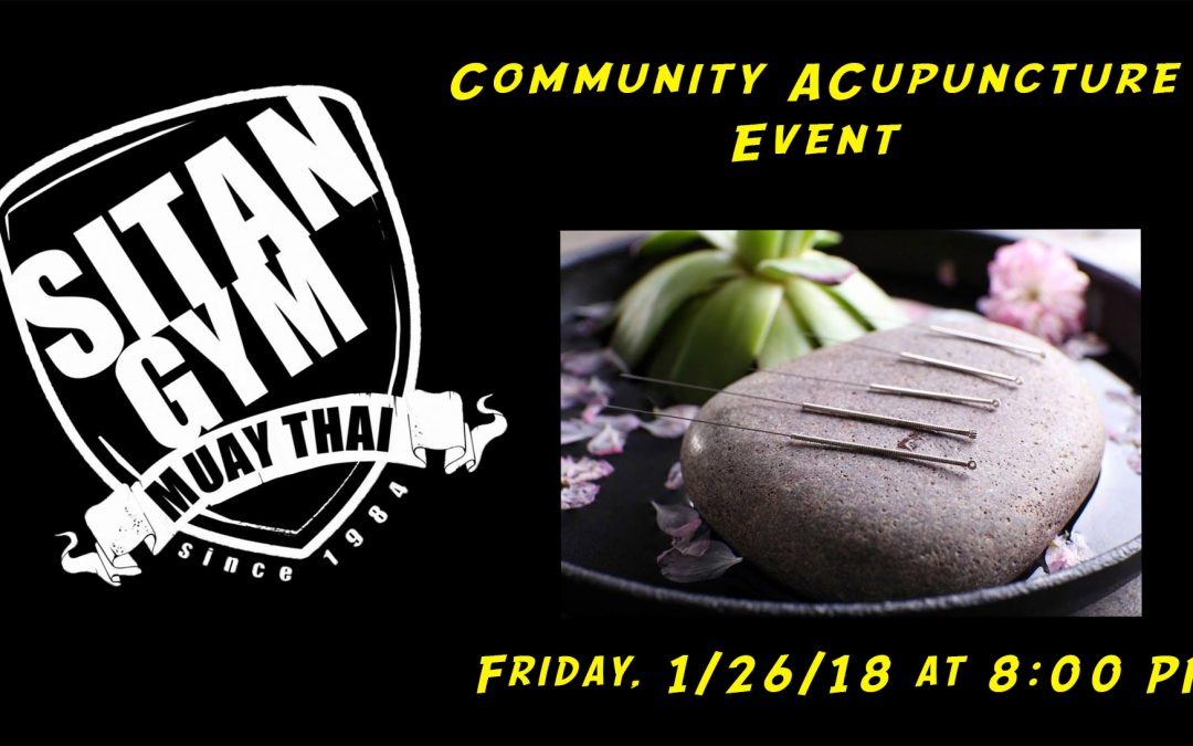 Community Acupuncture Event