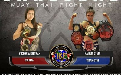 Kaitlin Fights in CA this weekend!